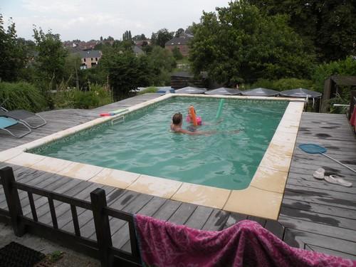 La piscine de bubu - Eau piscine laiteuse ...