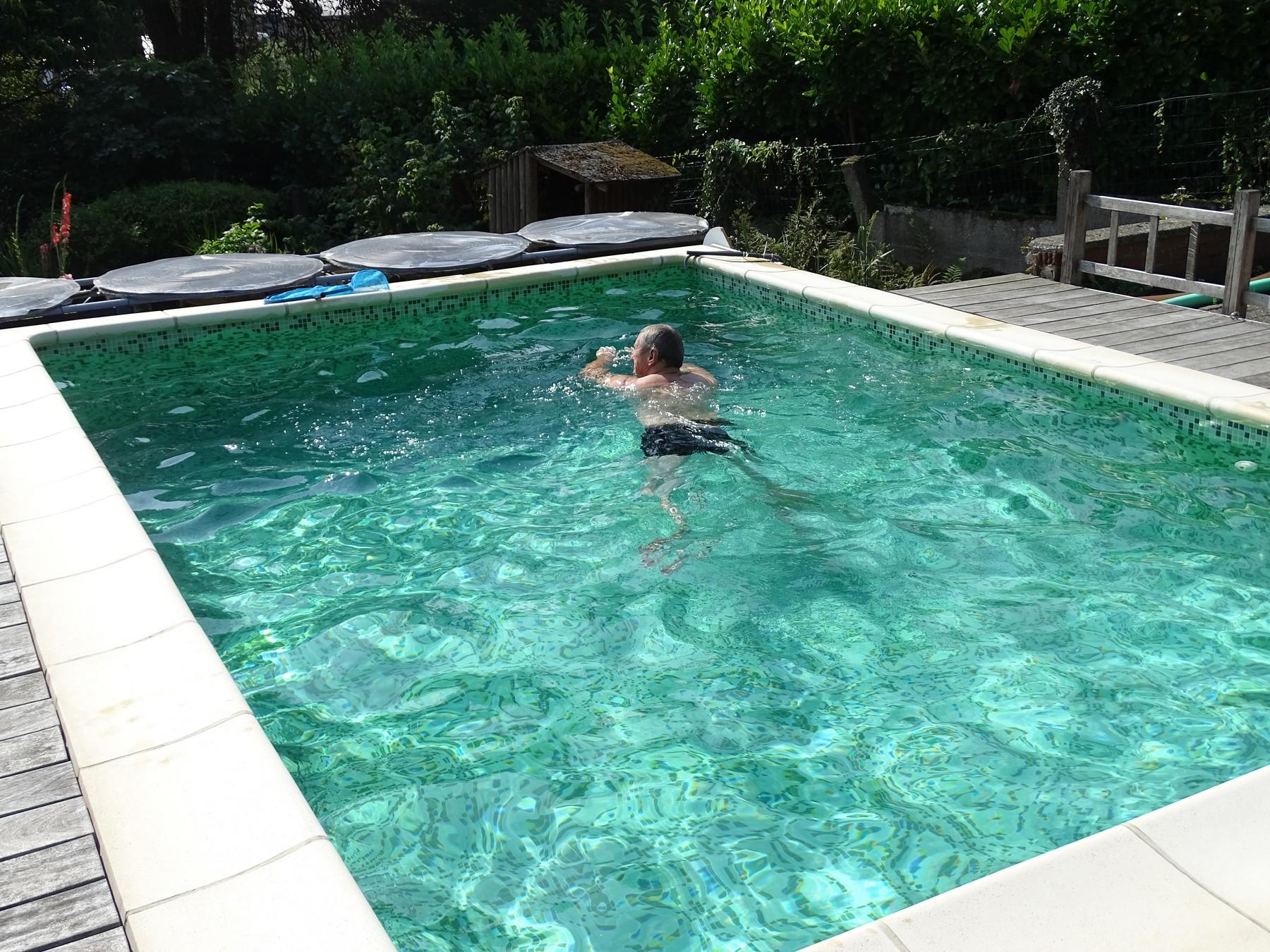 La piscine de bubu nouvelles for Trop de chlore piscine
