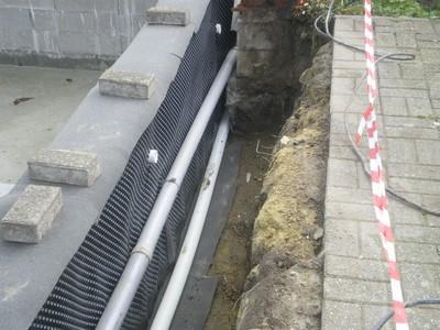 La piscine de bubu drainage for Drainage piscine