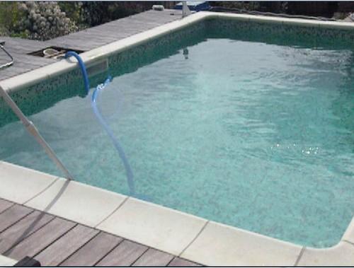 La piscine de bubu for Bache fond piscine