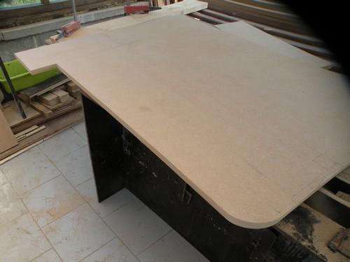 L 39 atelier bois generic lit mdf for Fabriquer meuble mdf
