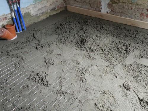 L 39 atelier bois generic isolation sol b ton - Dosage chape pour carrelage ...