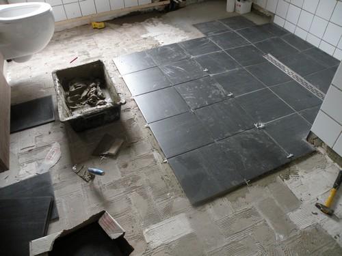 L 39 atelier bois generic nouvelles for Double encollage carrelage sol