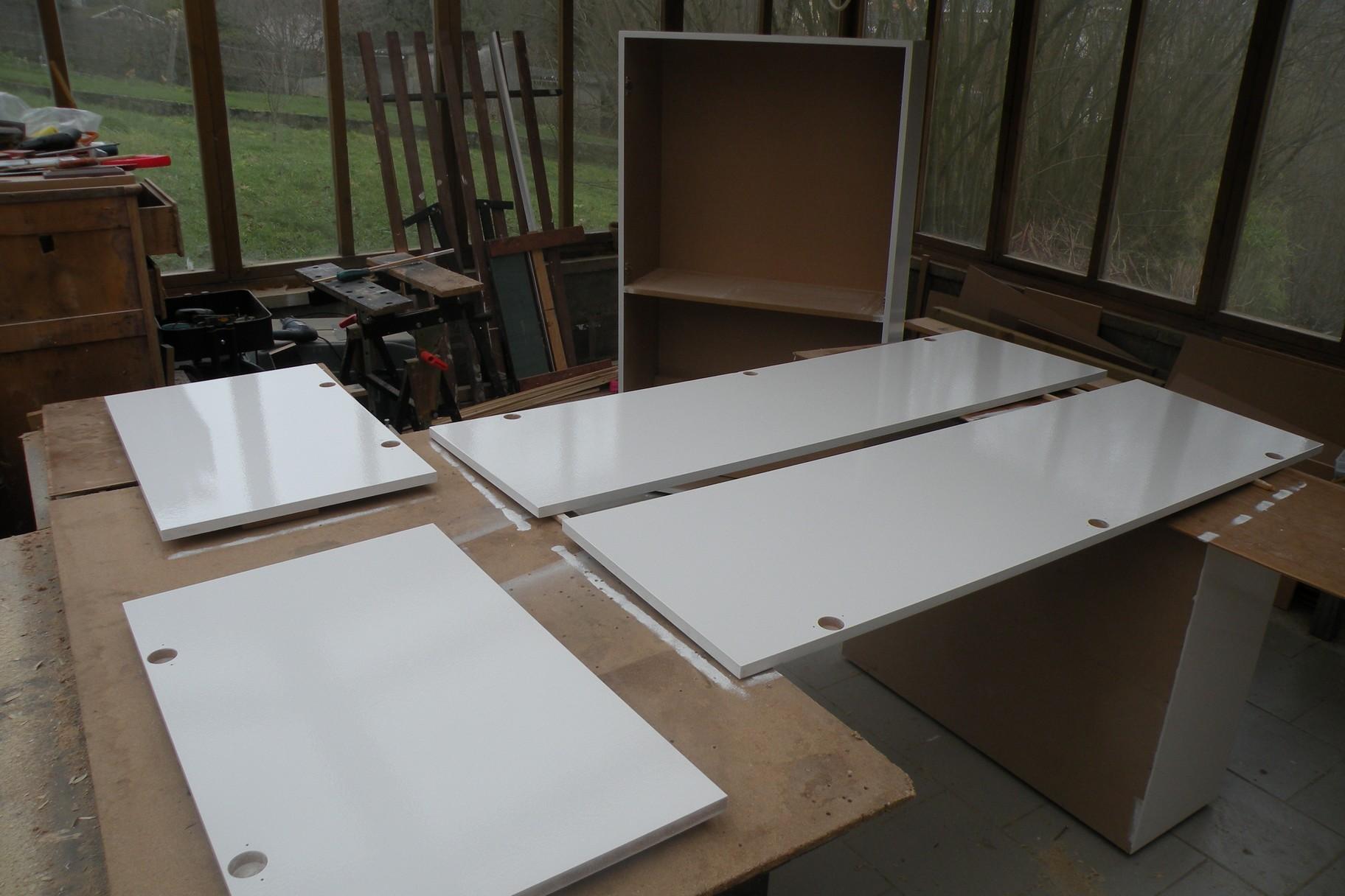 L 39 atelier bois generic finition meuble mdf escalier for Finition meuble