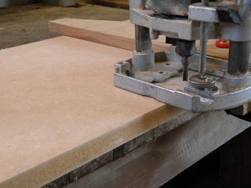 L 39 atelier bois generic 1 pr paratifs for Fabriquer meuble mdf