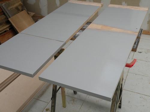 L 39 atelier bois generic 1 pr paratifs - 2eme couche de peinture sans trace ...