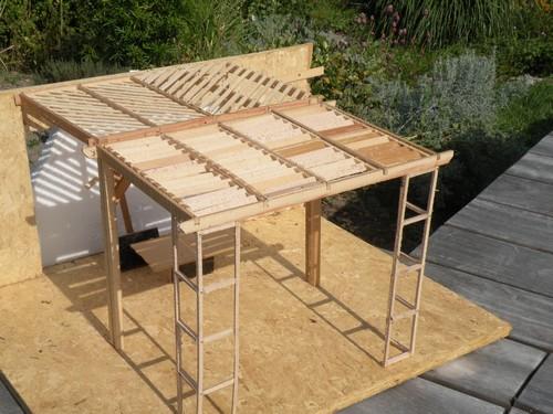 L 39 atelier bois generic pergola modulaire for Comment couvrir une pergola